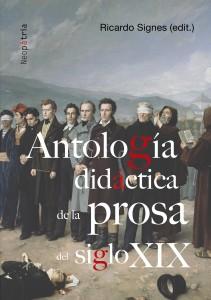 Portada Antologia didáctica de la prosa del siglo XIX